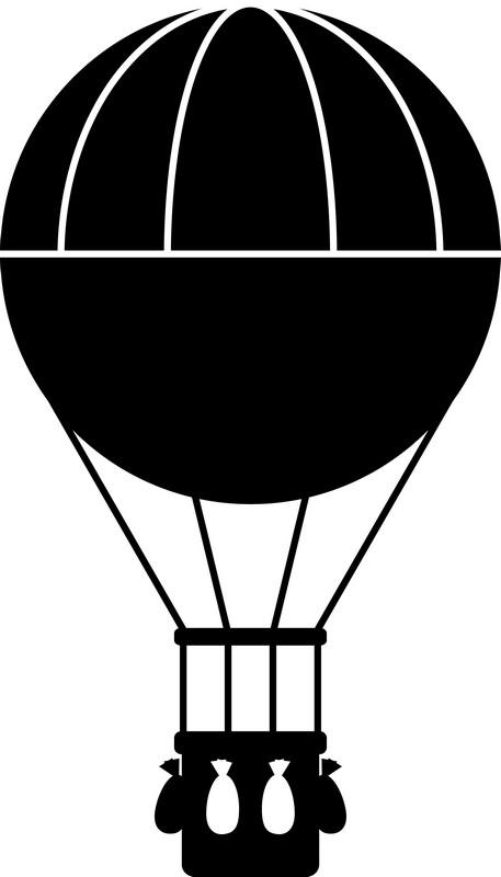 Наклейка «Воздушный шар»Транспорт<br><br>