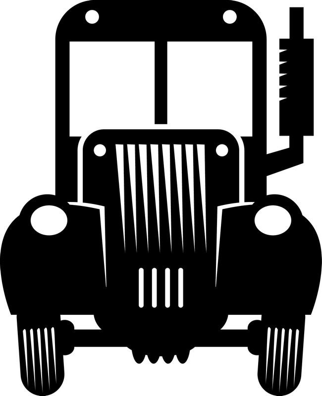 Наклейка «Старый грузовик»Транспорт<br><br>