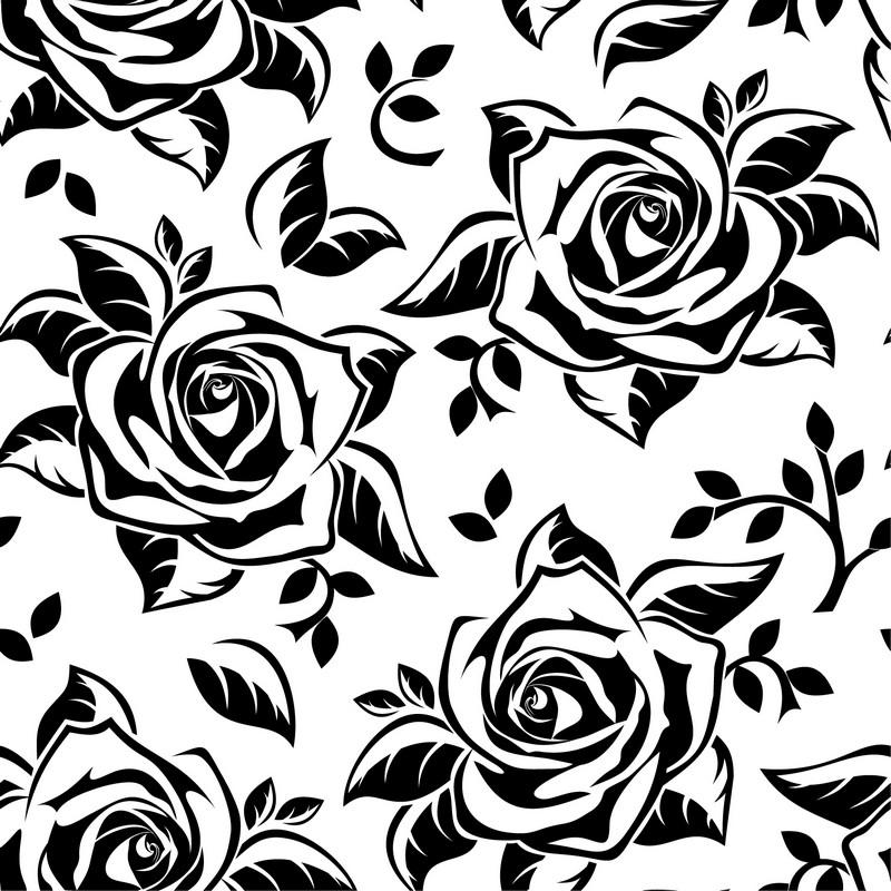 Наклейка «Квадрат из роз»Цветы<br><br>