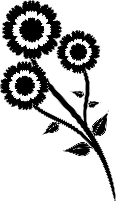 Наклейка «Букетик»Цветы<br><br>
