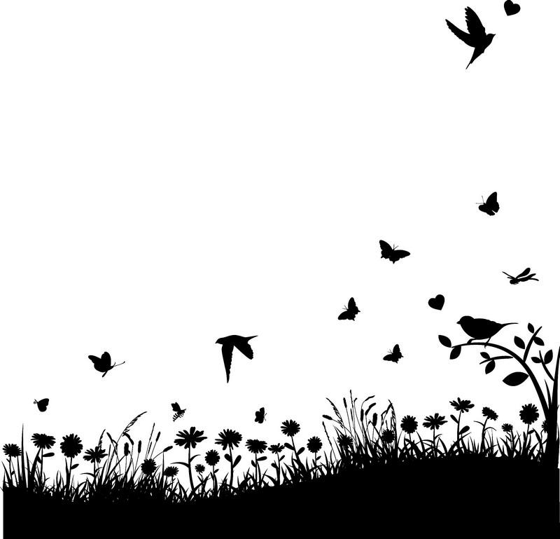 Наклейка «Полёт над полянкой»Цветы<br><br>