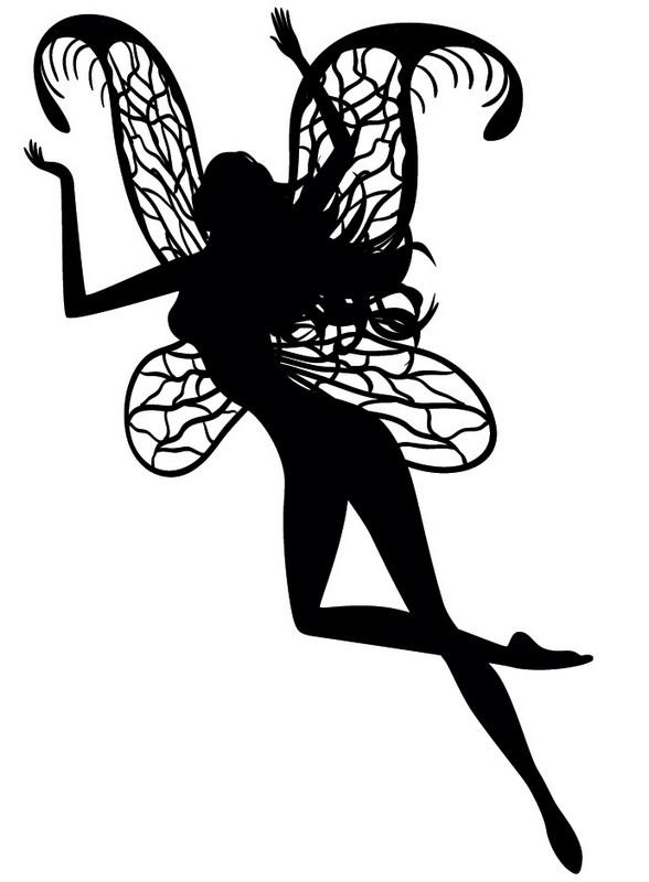 Наклейка «Летящая фея»Люди<br><br>