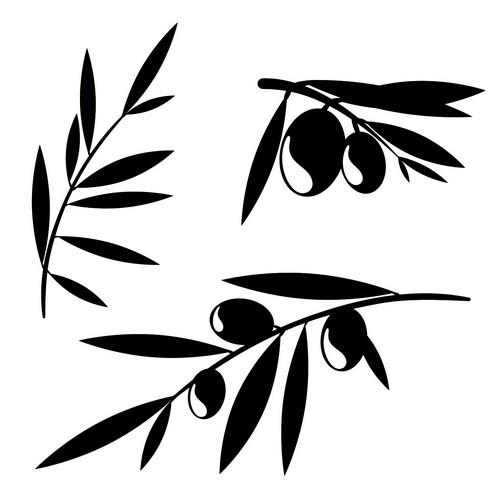 Наклейка «Ветви с плодами»Для кухни, столовой<br><br>