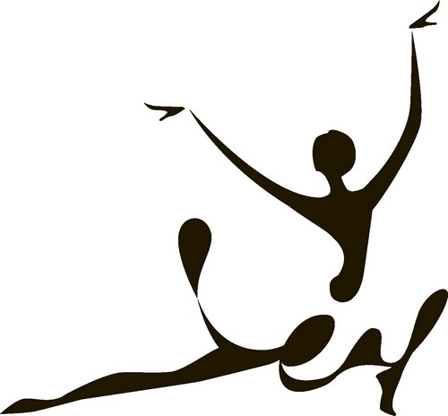 Наклейка «Балерина»Люди<br><br>