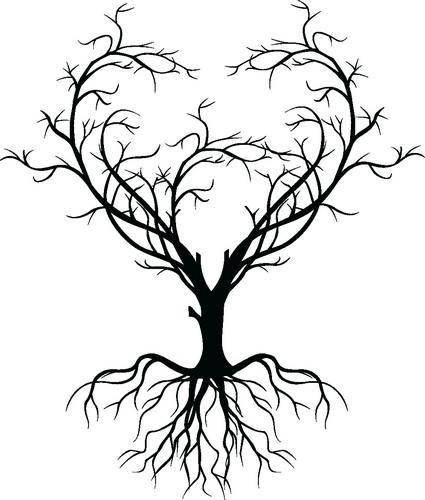 Наклейка «Дерево-сердце»Любовь<br><br>