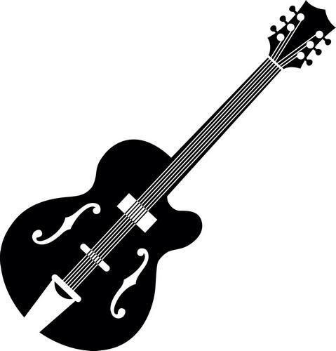Наклейка «Гитара»Разное<br><br>