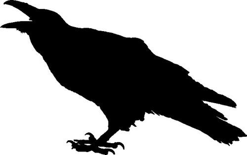 Наклейка «Ворона»Животные и птицы<br><br>