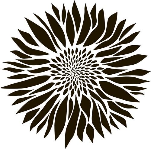 Наклейка «Астра»Цветы<br><br>
