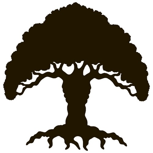 Наклейка «Дерево-гриб»Деревья<br><br>