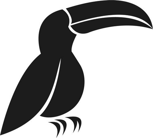 Наклейка «Пеликан»Животные и птицы<br><br>