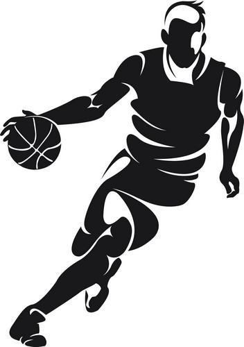 Наклейка «Звезда баскетбола»Люди<br><br>