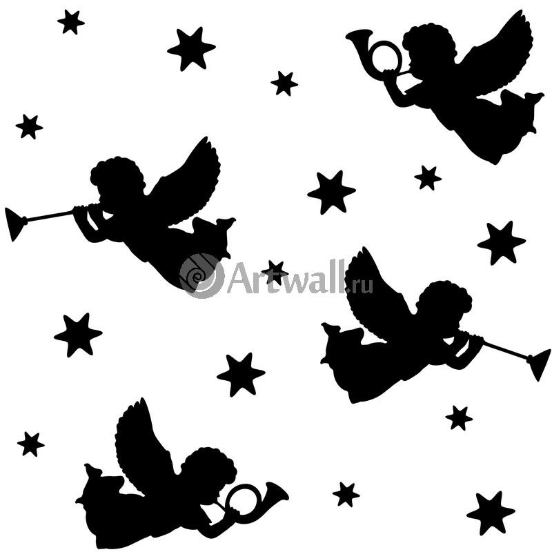 Наклейка «Амуры трубят»Новогодние<br><br>