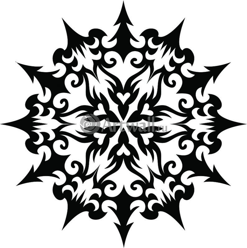 Наклейка «Снежинка-Х»Новогодние<br><br>