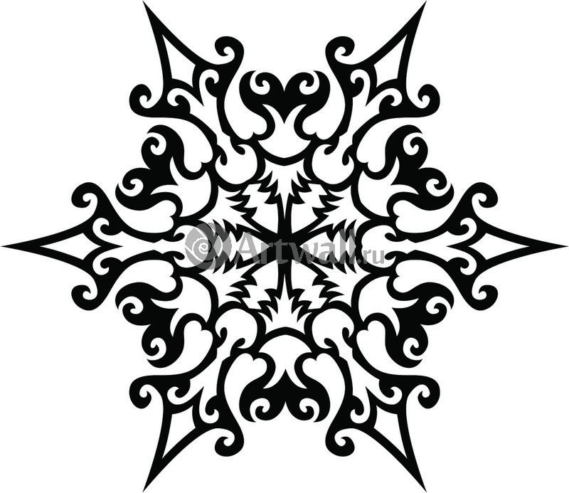 Наклейка «Снежинка»Новогодние<br><br>