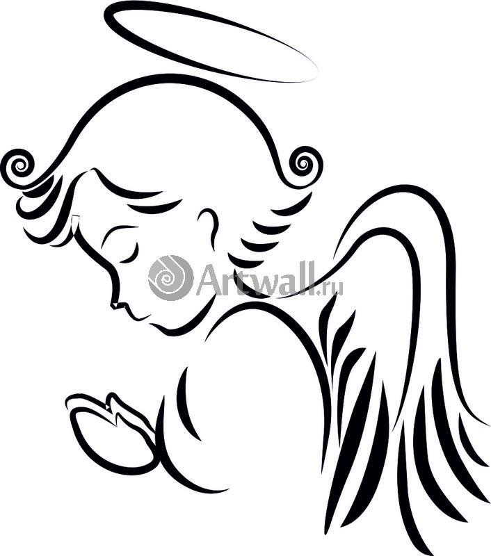 Наклейка «Молитва Ангела»Новогодние<br><br>