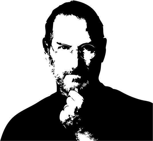 Наклейка «Стив Джобс»Люди<br><br>