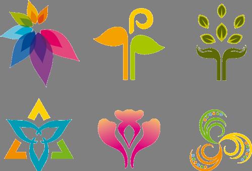 Наклейка «Шесть орнаментов»Абстракция<br><br>