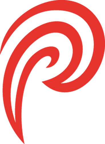 Наклейка Красная волнаАбстракция<br><br>