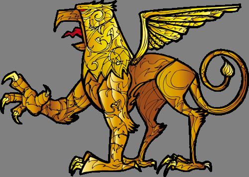 Наклейка «Грифон»Волшебные существа<br><br>
