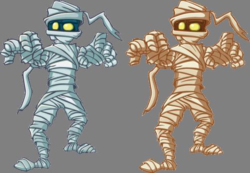 Наклейка «Мумии»Волшебные существа<br><br>