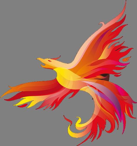 Наклейка «Феникс»Волшебные существа<br><br>