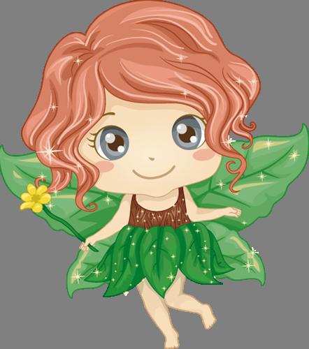 Наклейка «Зелёная фея»Волшебные существа<br><br>