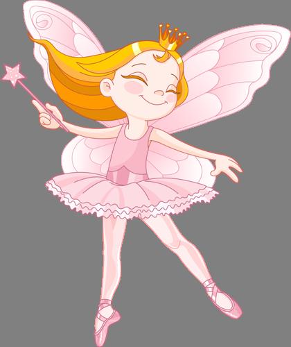 Наклейка «Розовая фея»Волшебные существа<br><br>