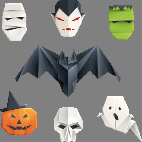 Наклейка «Хэллоуин»Волшебные существа<br><br>