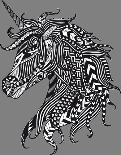 Наклейка «Единорог»Волшебные существа<br><br>