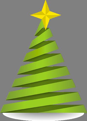 Наклейка «Спиральная ёлочка»Деревья<br>Цветная интерьерная наклейка на виниле. Яркая и красивая! Можно сделать любой размер. Трехслойная надежная упаковка. Доставим в любую точку России.<br>