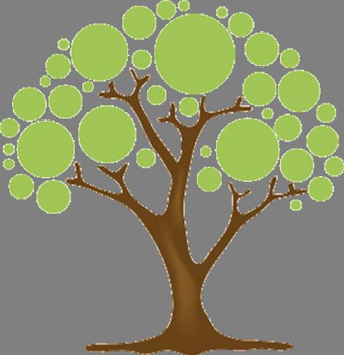 Наклейка «Летнее дерево»Деревья<br>Цветная интерьерная наклейка на виниле. Яркая и красивая! Можно сделать любой размер. Трехслойная надежная упаковка. Доставим в любую точку России.<br>