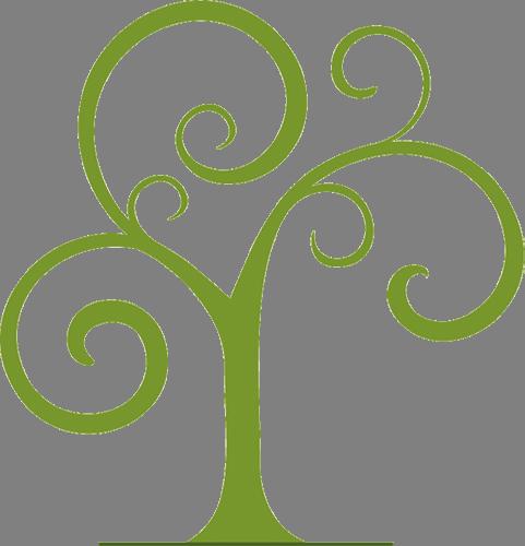 Наклейка «Зимнее дерево»