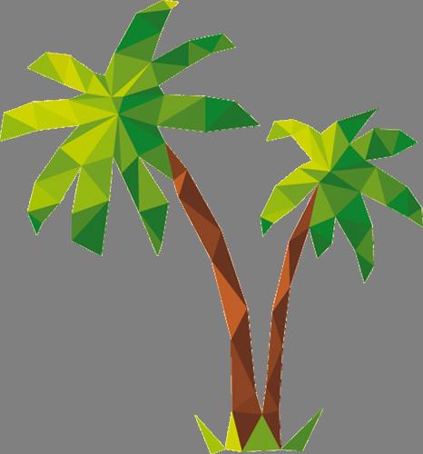Наклейка «Пальмочки»Деревья<br><br>
