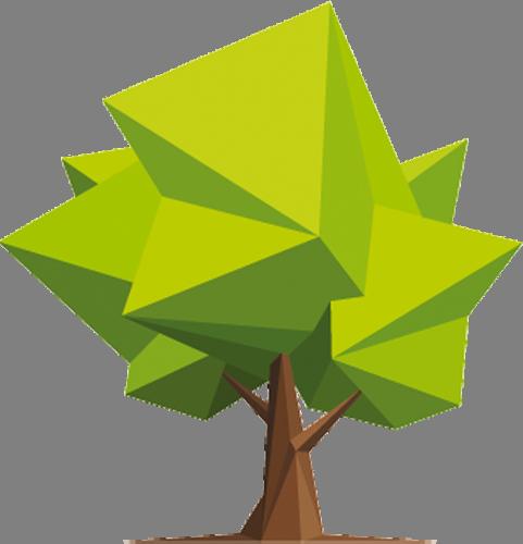 Наклейка «Могучий дуб»