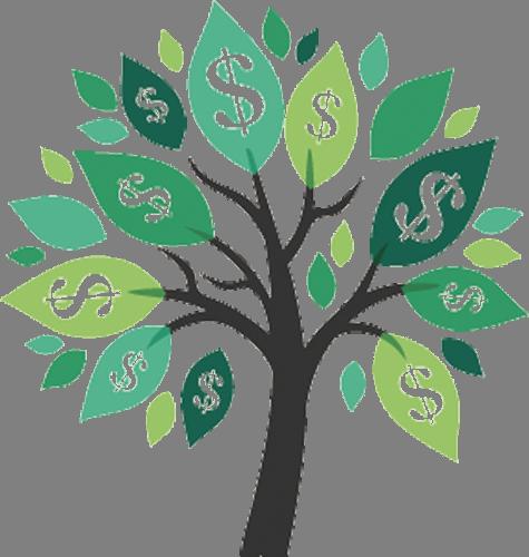 Наклейка «Денежное дерево»Деревья<br><br>