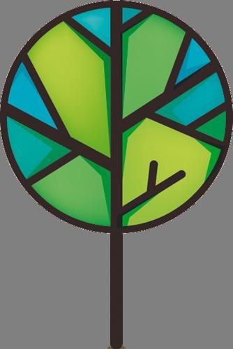 Наклейка «Дерево мозаика»Деревья<br><br>