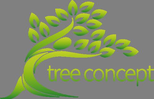 Наклейка «Дерево-концепт»