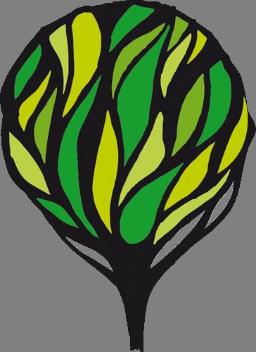 Наклейка «Дерево во тьме»