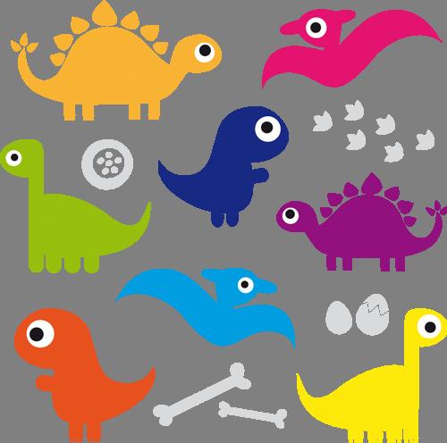 Наклейка «Эра динозавриков»Детские<br><br>