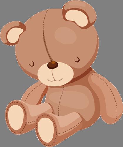 Наклейка «Сонный мишка»Детские<br><br>