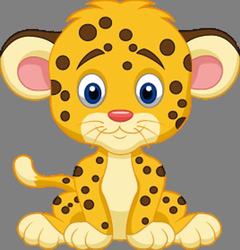Наклейка «Тигрёнок»Детские<br><br>