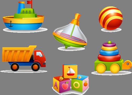 Наклейка «Весёлые игрушки»Детские<br><br>