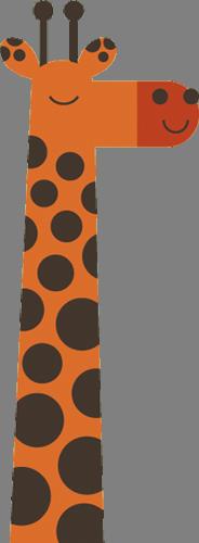 Наклейка «Жираф»Детские<br><br>