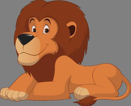 Наклейка «Царь зверей»Детские<br><br>