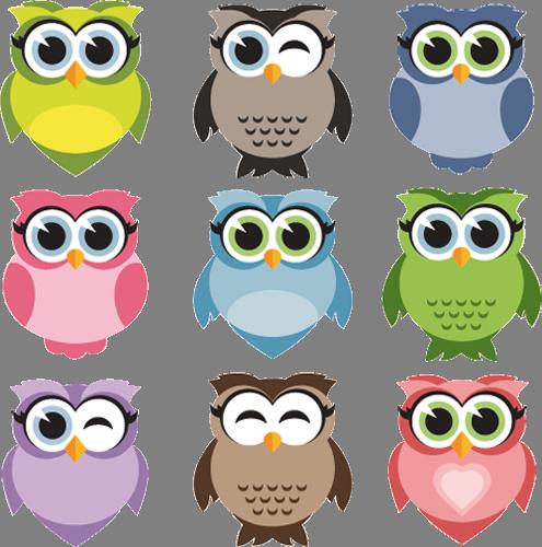 Наклейка «Девять птичек»Детские<br><br>