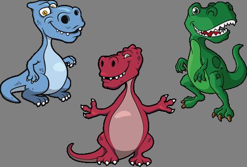 Наклейка «Три тираннозавра»Детские<br><br>