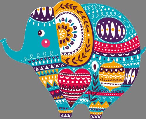 Наклейка «Слоник»Детские<br><br>