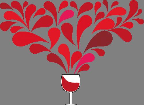 Наклейка «Бокал вина»Для кухни, столовой<br><br>