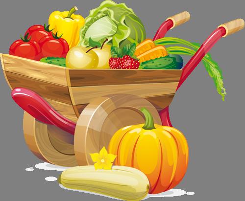 Наклейка «Урожай»Для кухни, столовой<br><br>