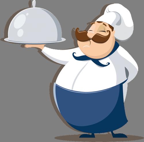Наклейка «Повар»Для кухни, столовой<br><br>